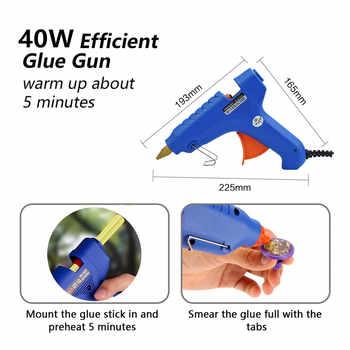 Furuix Rods Hooks Dent Puller Dent Lifter lamp Light Slide Hammer Car Dent Remover Kit Glue stick Removal Hail Rods tool set