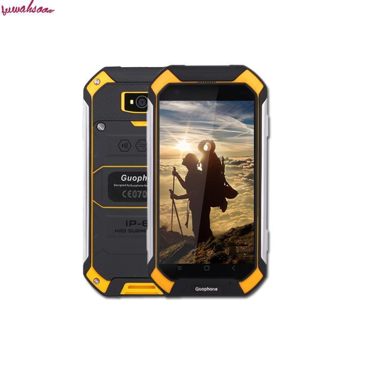 bilder für Ursprüngliche guophone v19 android 6.0 4,5 ''gorilla bildschirm smartphone mtk6580 quad core 2 gb + 16 gb ip68 wasserdichte handy