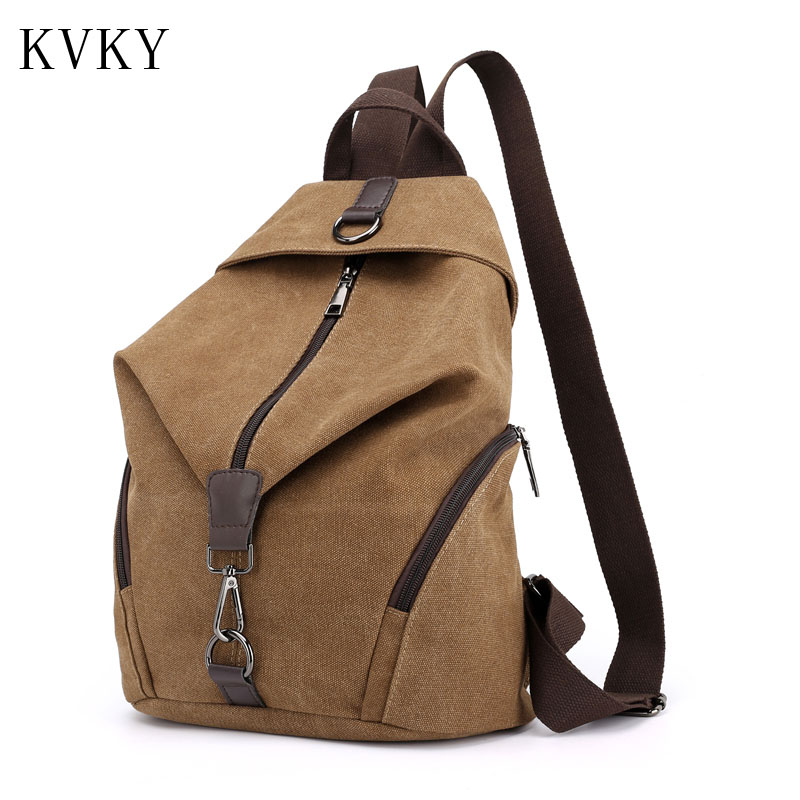 2018 Fashion High Quality Women Backpack Cute Canvas Backpacks Girls Female Rucksack School Shoulder Travel Bags mochila new brand women backpack high quality leather backpacks mochila school bags for girls satchel rucksack bags fashion gift 1 pcs