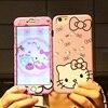 For Iphone 7 7 Plus Hello Kitty Cute Front Back Case 360 Full Range Matte Skin