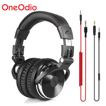 Oneodio Professional Studio Headphones DJ Stereo Headphones Studio Monitor Gaming Headset 3.5mm 6.3mm Cable For Xiaomi Phones PC(China)