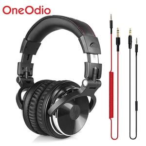 Image 1 - Oneodio Professional Studio Kopfhörer DJ Stereo Kopfhörer Studio Monitor Gaming Headset 3,5mm 6,3mm Kabel Für Xiaomi Handys PC