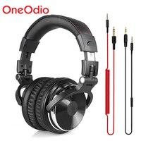 Oneodio Professional Studio Headphones DJ Stereo Headphones Studio Monitor Gaming Headset 3.5mm 6.3mm Cable For Xiaomi Phones PC