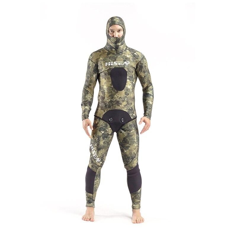 Сик 3.5 мм зима Мокрые одежды спорта людей 2-шт Для мужчин спортивные Костюмы полный Средства ухода за кожей с длинным рукавом Ямамото водолаз...