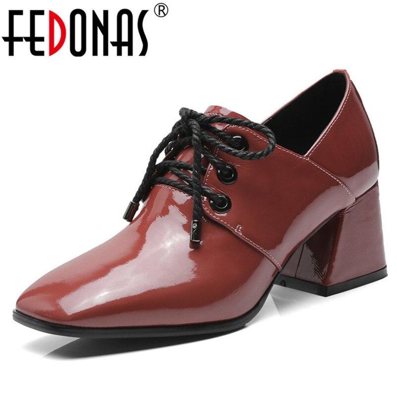 Chaussures Chocolat Attaché Noir Pompes Hauts Fedonas Femme 0PXk8wOn