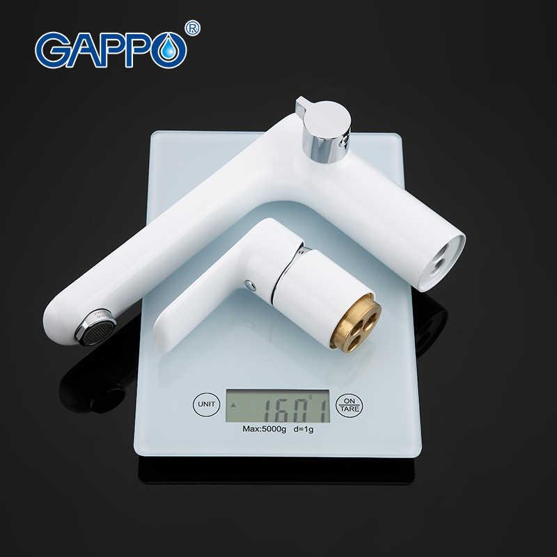 GAPPO อ่างอาบน้ำก๊อกน้ำก๊อกน้ำห้องอาบน้ำฝักบัวน้ำตกผนังอาบน้ำชุดห้องน้ำ TAP bath Mixer torneira grifo duchaGA1148