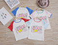 newest 2017 baby boys girls Mothers summer cotton T-shirts COCO letter printed short sleeve family fashion clothes free shipping