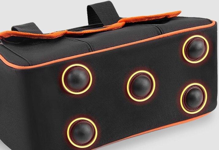 CAMMITEVER Screwdriver Tool Bag Large Capacity Electric Drill Thicken Professional Repair Tools Bag 19inch Toolkit Bag Handbag