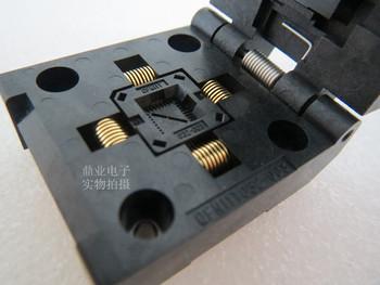 Z klapką QFN11T032-003 QFN33 QFN32 5*5 MM szerokość rzędów 0 5mm IC spalania siedzenia Adapter testowania miejsce badania testowania gniazd ławki w magazynie tanie i dobre opinie Tester kabli JINYUSHI 5X5MM
