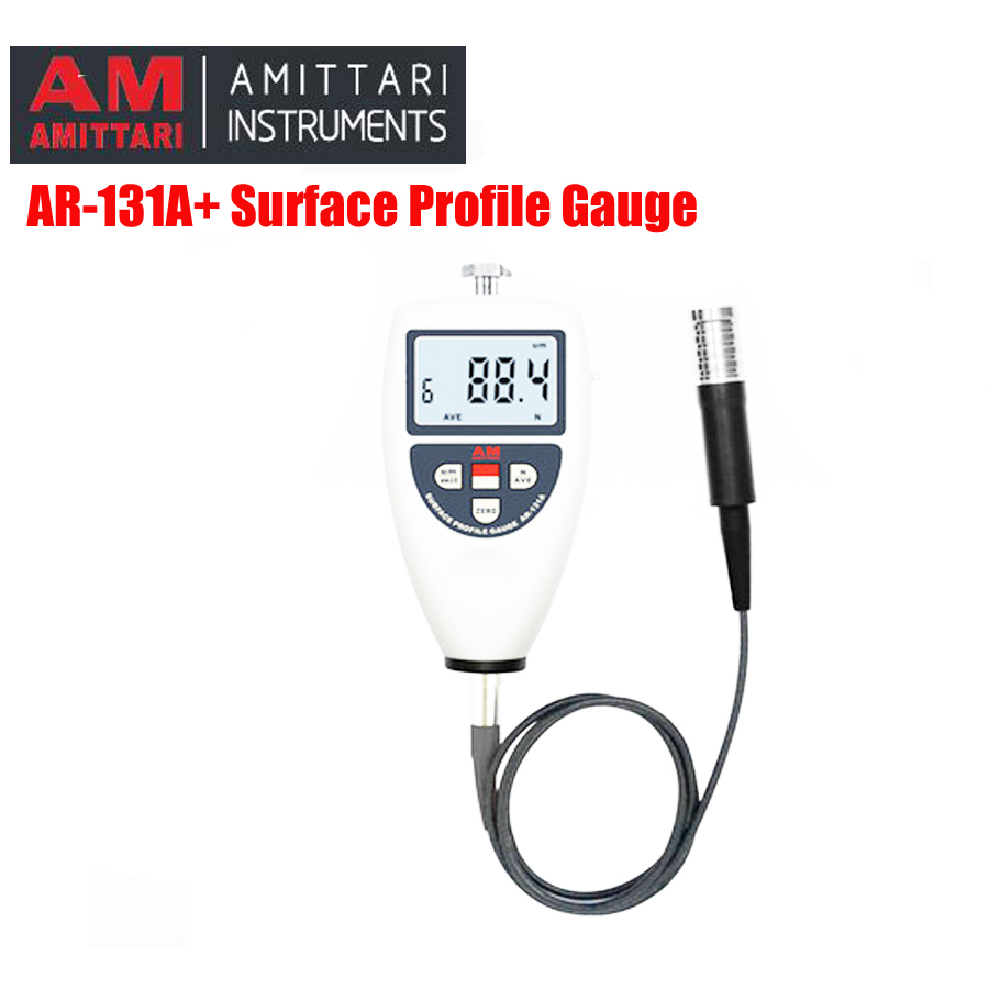 AR-131A+ Surface Roughness Tester Surface Profile Gauge used in Shot blasting industry Surface Profile Gauge Meter цена