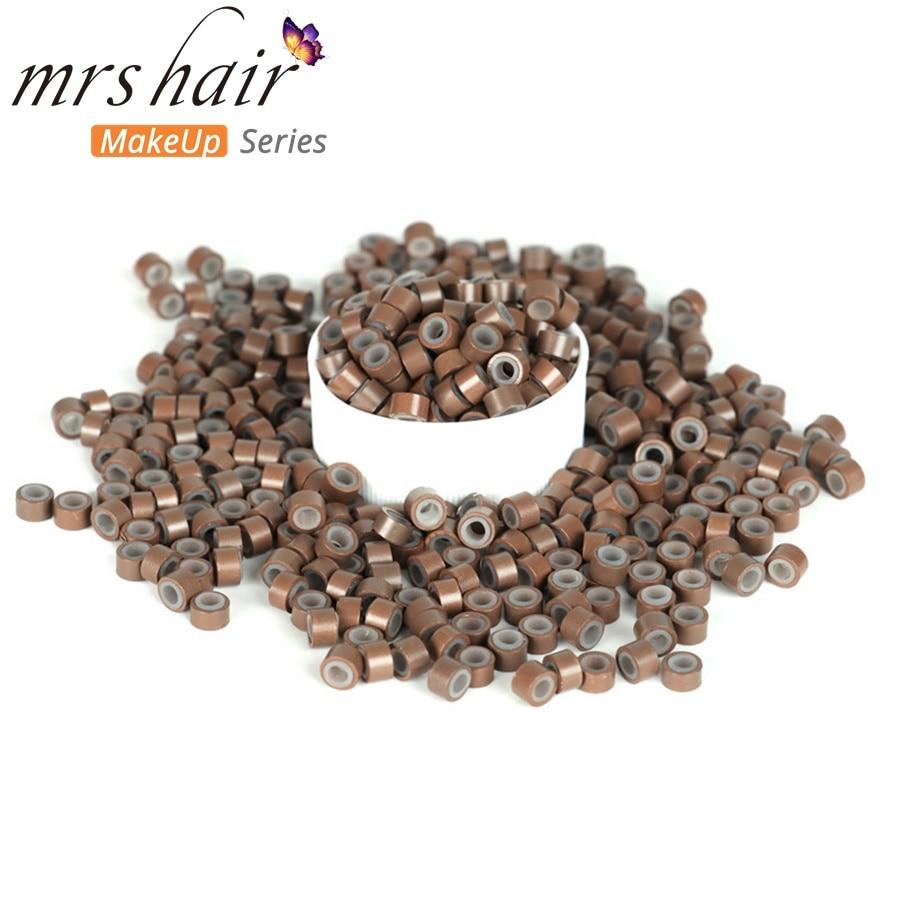 Silikon Mikro Tautan Manik-manik Manik-manik Rambut + Jarum Kait + - Perawatan rambut dan styling - Foto 5