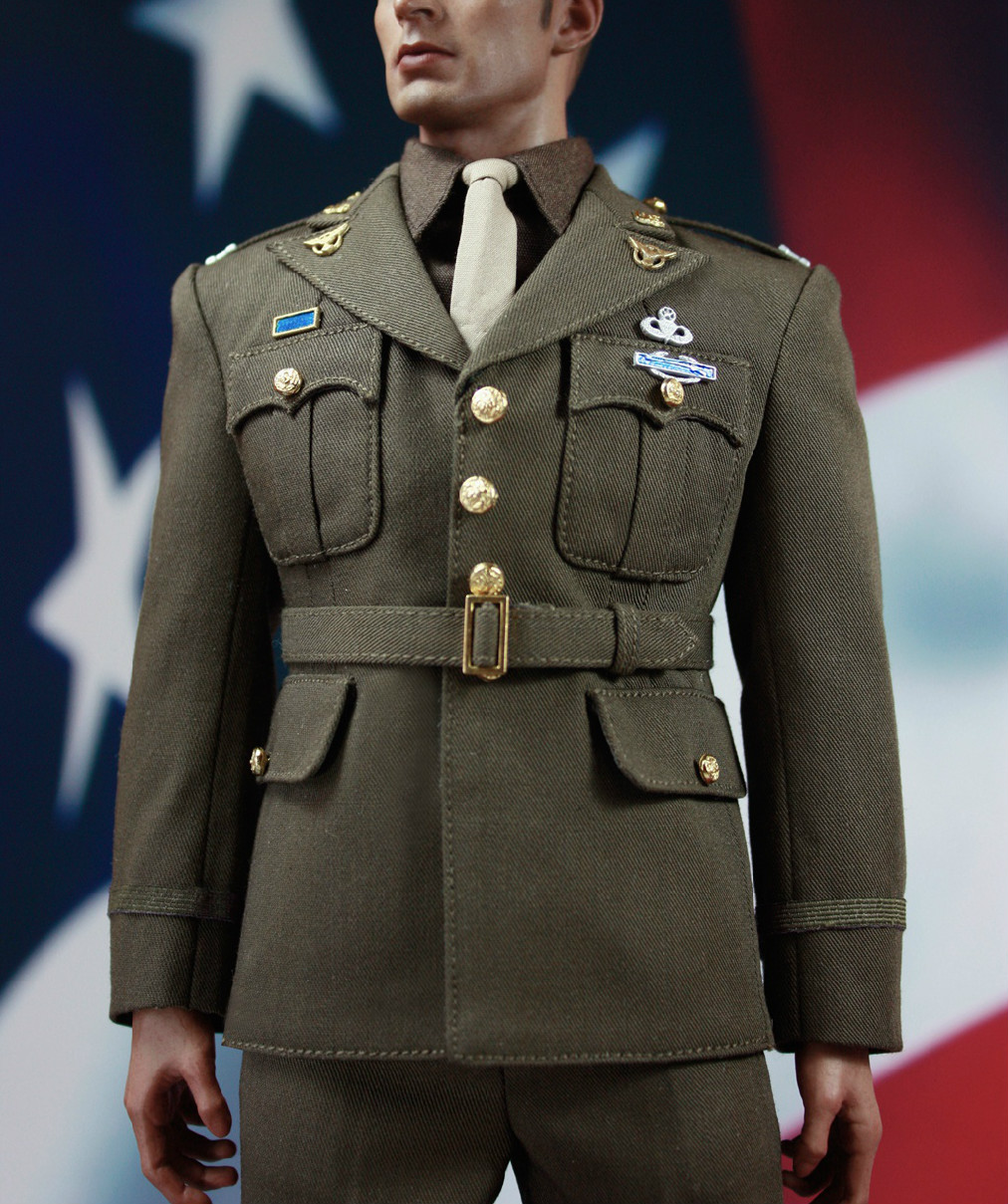 Estartek X19 1/6 The Captain of The Golden Age Uniform Suit for 12inch Action Figure DIY 1 6 3r did gm617 2nd edition hermann goering head of the luftwaffe blue uniform action figure toys collections m3