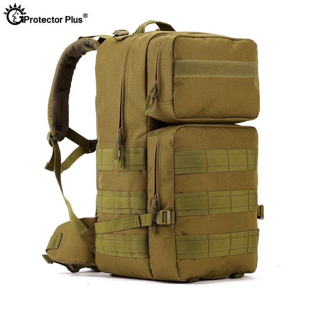 Protecteur PLUS sac extérieur militaire tactique Nylon Durable alpinisme chasse voyage Sport étanche haute capacité sac à dos