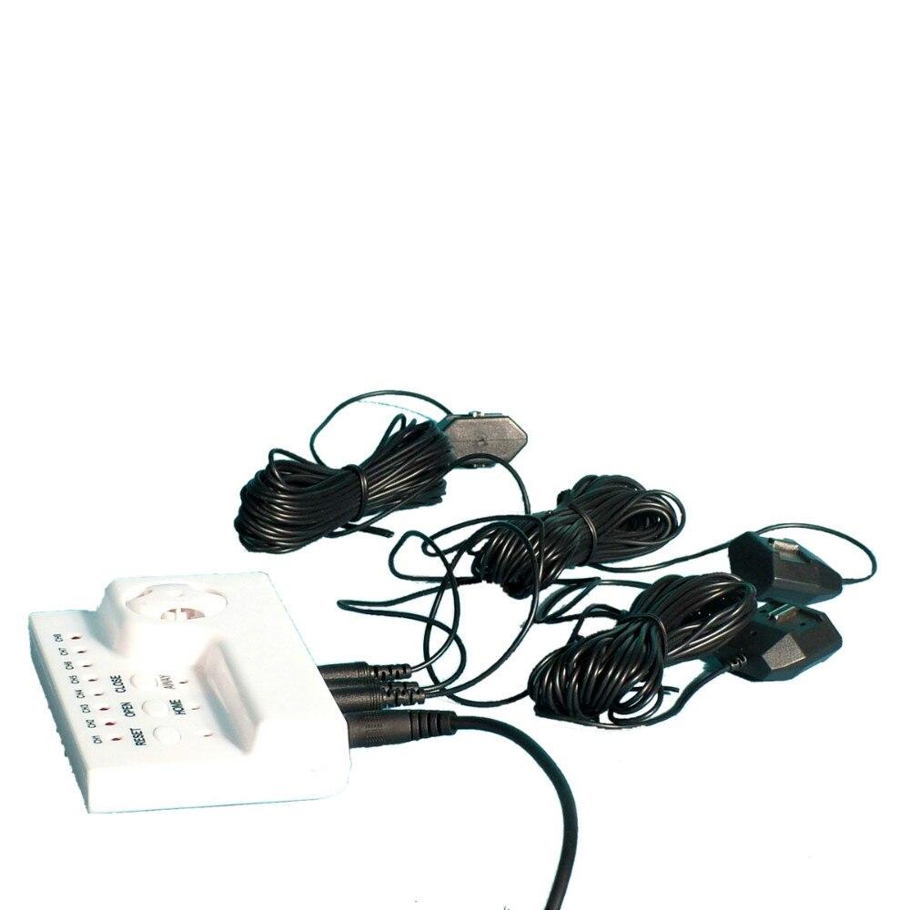 """bilder für HIDAKA Verdrahtete Wasser Undichte Gasleckdetektor Alarm mit Automatische abschaltung BSP Ventil 8 stücke 6 meter Sensor Kabel Alarm System 3/4 """"(DN20 * 1 stück)"""