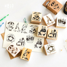 Cute Animal series wooden rubber stamps for scrapbooking stationery DIY scrapbooking  wooden stamp 25pcs set diary pattern wooden box stamp rubber lovely cute diy writing scrapbooking stamp gift clear stamps for scrapbooking