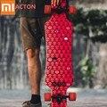 Полноразмерный скейтборд Xiaomi ACTON  длинный светодиодный ночник  деревянный скейтборд для катания на открытом воздухе 16-50 лет