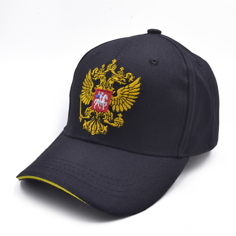 New russia Baseball Cap Russia Badge Embroidery Snapback Fashion Sports Hat Men and women with Patriot Hat bone