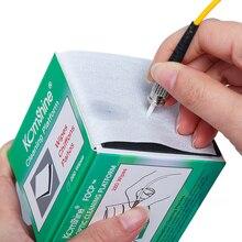 Komshine Fiber Optic Cleaning wipes FOCP anzug für FC/SC/ST 2,5mm 1,25mm LC Bare fiber universal Stecker
