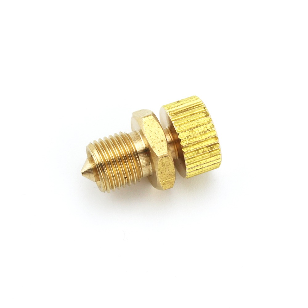 2pcs/lot PCP Airsoft Pump High Pressure Pump Copper Safety Bleeder Valve Spare Parts Air Bleed Screw Replacement 300bar/4500psi