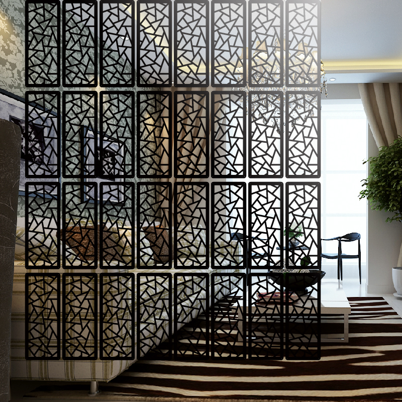 6PCS Entranceway Hanging Wooden Carved Cutout Carving Room Divider  Partition Wall Biombo Room Dividers Partitions 19cmx39cm In Screens U0026 Room  Dividers From ...