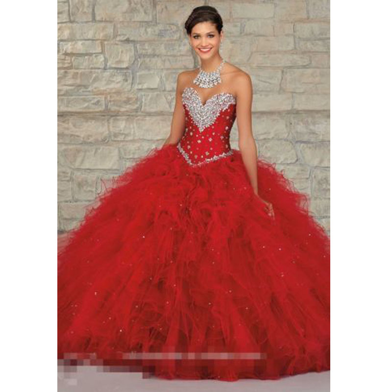 Popular Red Quince Dresses-Buy Cheap Red Quince Dresses lots from ...