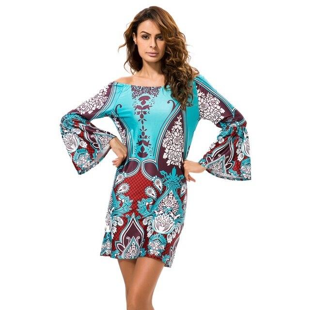 c8495239f3ea Summer Sexy Floral Print Chiffon Dress Boho Style Short Party Beach Dresses  Vestidos Women Dress 2018