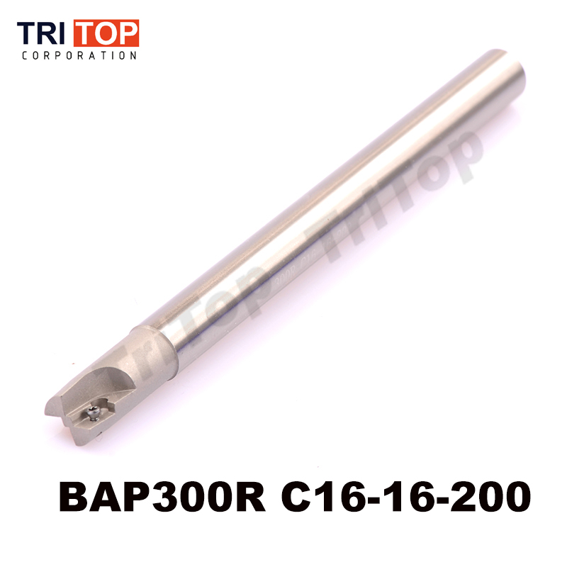 BAP JAP 300R C16-16-200 D16 200MM Milling tool holder face mill shoulder cutter for milling machine for insert  APMT1135PDR