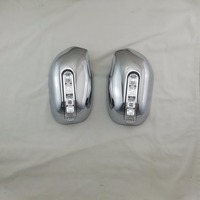 For TOYOTA CAMRY XV30 2002 2006 Door Mirror Cover With LED Overlay Frame Panel Rearview Trim Rear View Chrome Car Styling