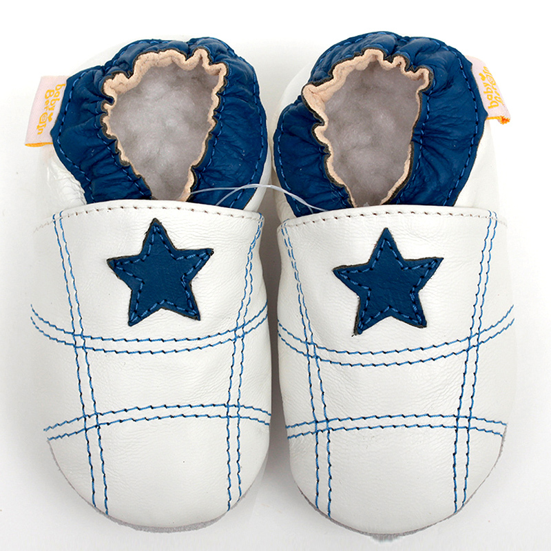 White Toddler Shoes | Newborn Baby Shoes Moccasins Girls Leather Baby Boy Shoes White Toddler Infant Shoes Boy Slipper Baby Kids Shoes First Walker