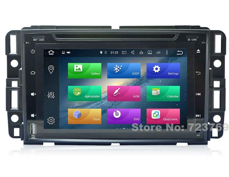 4G RAM 8 pouces Android 8.0 système de Navigation GPS de voiture lecteur Radio DVD média stéréo pour GMC Acadia pour Buick Enclave écran tactile