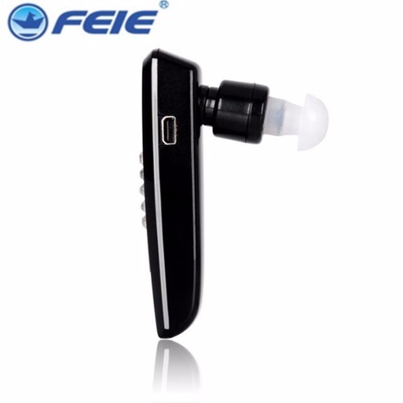 Estilo sofisticado bluetooth recarregável aparelhos auditivos aparelhos auditivos China preço do fone de ouvido para a surdez 1 pcs S-101 para ambas as orelhas