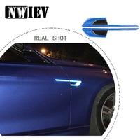 NWIEV Car Styling For Hyundai Creta Tucson BMW X5 E53 VW Golf 4 7 5 Tiguan Kia Fender 3D Emblem Sticker Reflective Accessories