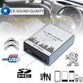 USB SD AUX Автомобильный MP3 Музыка Интерфейс Плеера Адаптер CD Машина изменения для Peugeot 106 206 Citroen C3 C4 C5 RD3 8PIN автомобиль Для Укладки