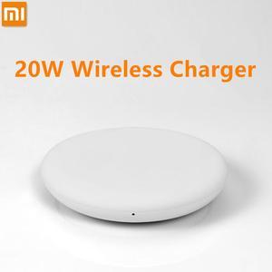 Image 2 - 100% chargeur sans fil dorigine Xiao mi rapide 20 W Max pour mi 9 20 W mi X 2 S/3 10 W Qi EPP Compatible téléphone portable 5 W plusieurs coffre fort