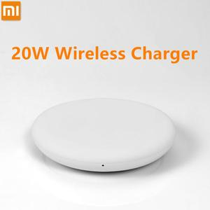 Image 2 - 100% oryginalna bezprzewodowa ładowarka Xiao mi szybka 20W Max dla mi 9 20W mi X 2 S/3 10W Qi EPP kompatybilny telefon komórkowy 5W wiele sejf
