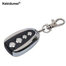 Kebidumei 433mhz portátil controle remoto controle remoto clonagem elétrica fob chave porta do carro transmissor