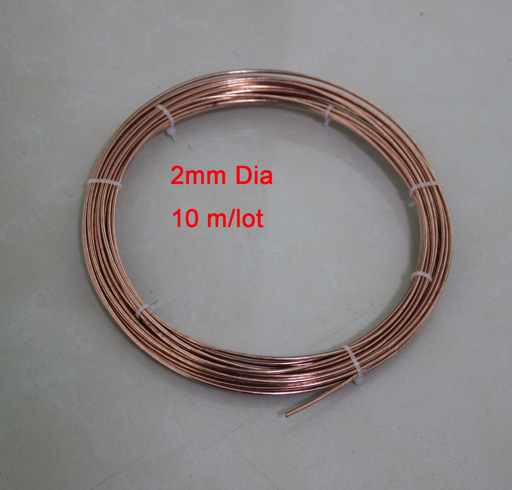 2mm Thickness T2 Pure Copper Wire Industry Experiment DIY Materials ...