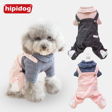 Hipidog Pet Dog Thicken Velvet Winter Clothes Puppy Sweater for French Bulldog Pug Chihuahua Teddy Cat