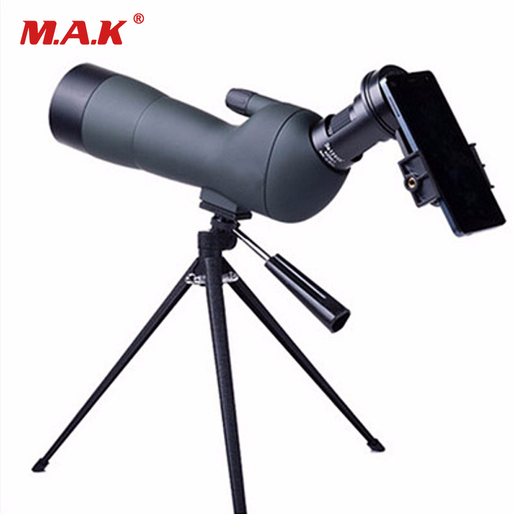 High Quality 20-60X60 Spotting Scope Birdwatching Binoculars for Archery and Shooting Target with Tripod and Phone Bracket цена