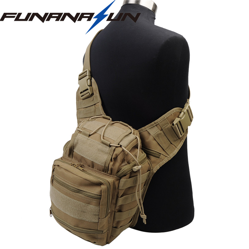 New Type Tactical 600D Molle Versipack Men Hunting Backpack Shoulder Bags Airsoft Sports Nylon Messenger Bag Saddle Pouch