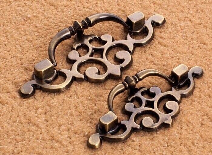 getSubject() aeProduct. - Antique Bronze Zinc Alloy Furniture Handles Cabinet Wardrobe Dresser
