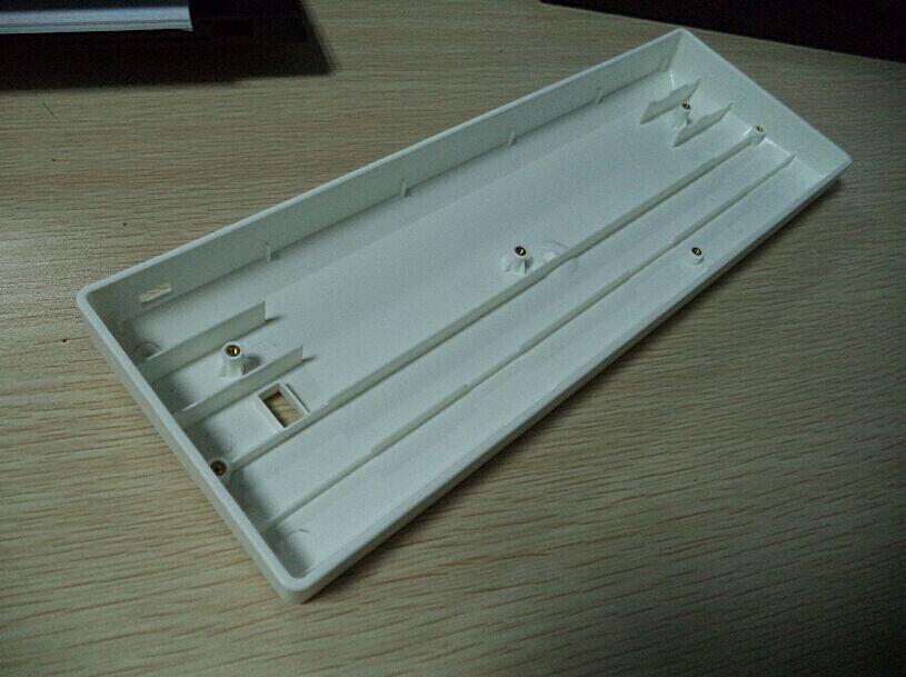 купить GH60 keyboard base POKERII 60% mechanical keyboard poker2 plastic frame case 60 gaming keyboard FACEU red по цене 924.77 рублей