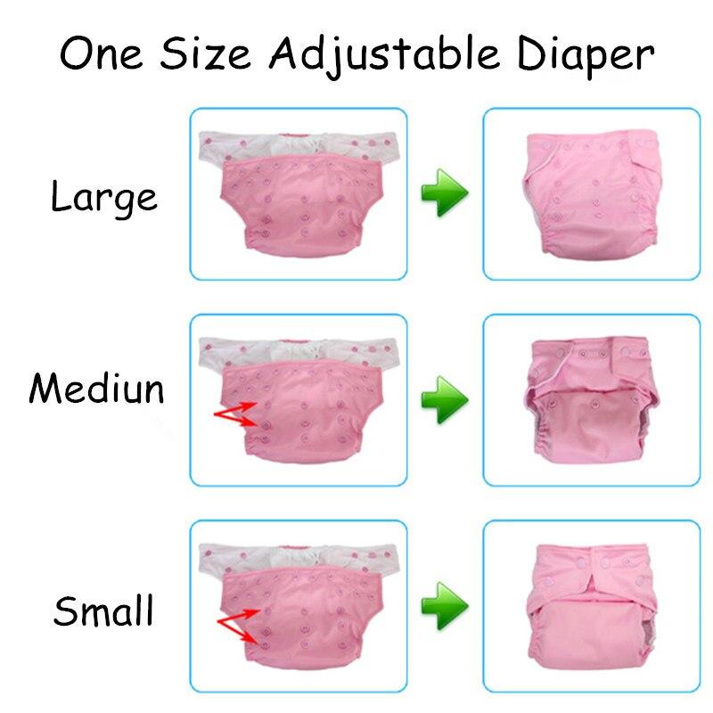 [Mibest] 10 db Baby Baby pelenka pelenka 10 betétes mosható - Pelenkák és WC képzés - Fénykép 3