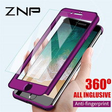 ZNP 360 Full Cover Phone Case For iPhone