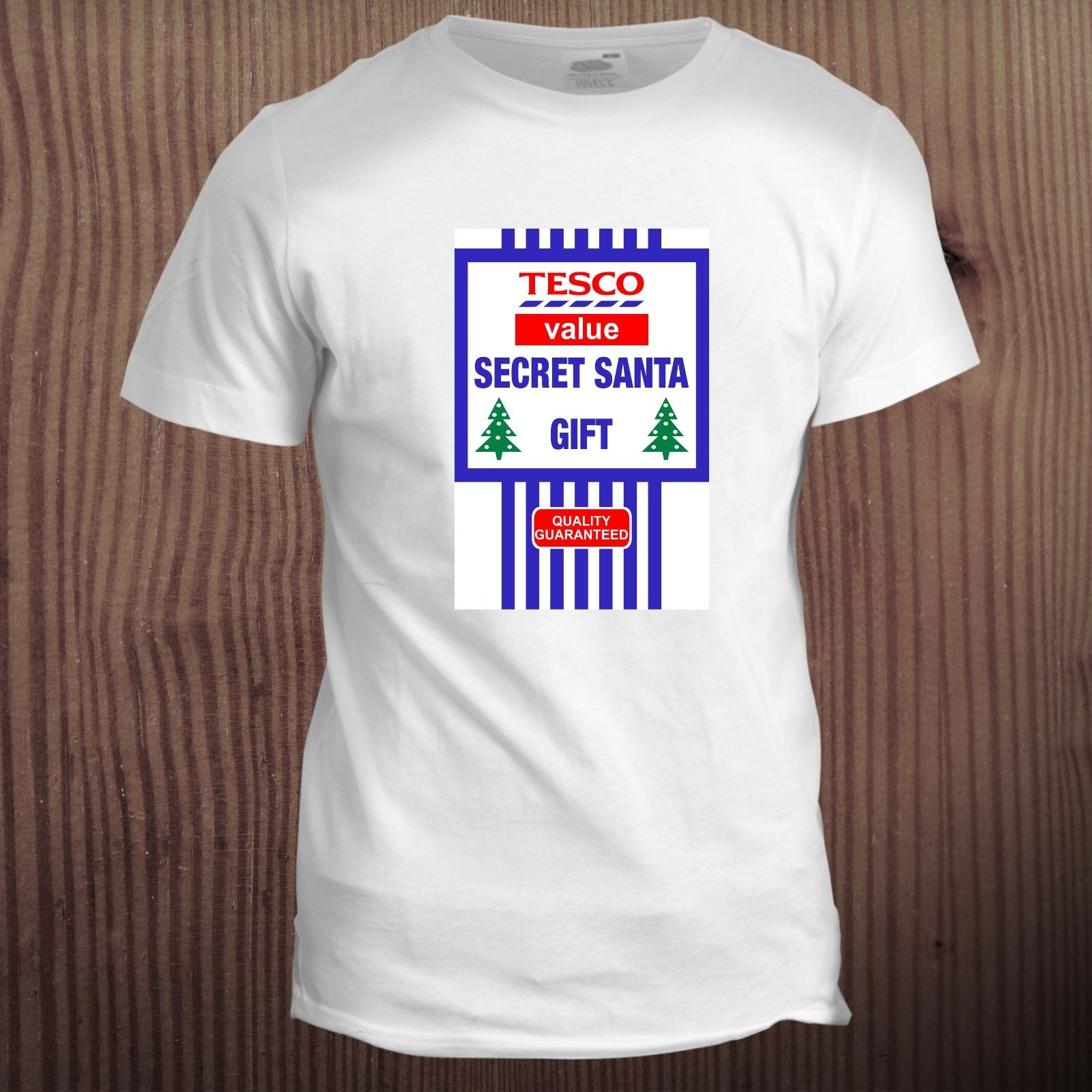 Secret Santa Xmas Christmas Festive Gift Present Stocking Filler T Shirt Fashion Cotton T-Shirts Fashion Design Free Shipping