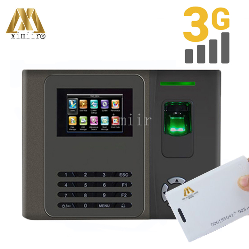 New Arrival XM200 Fingerprint Time Attendance With 3G Communication And ADMS Smart Time Attendance Time Clock