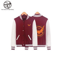 Gzpw cosplay Tom Clancy's The Division Autumn and winter new cardigan jacket men and women sports jacket S-XXXL