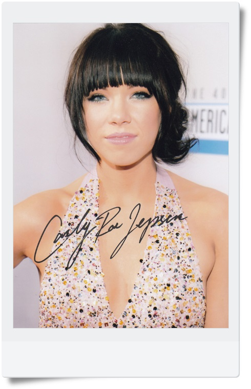 signed Carly Rae Jepsen autographed photo 7 inches free shipping 7 versions 092017 signed wolf warriors celina jade autographed original photo 7 inches 7 versions free shipping 082017