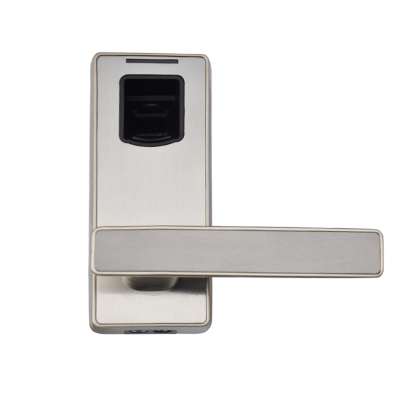 LACHCO Biometric Fingerprint Door Lock with Mechanical Key Free ...