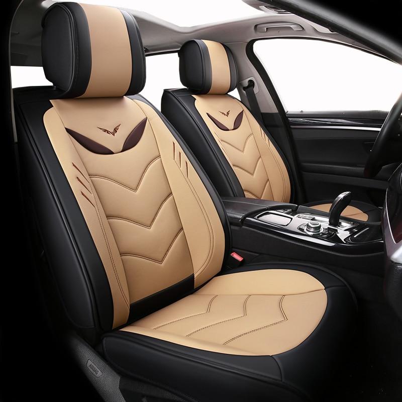 (vorne + Hinten) Spezielle Leder Auto Sitzbezüge Für Lada Kalina 1 2 Largus Priora Vesta Xray, Byd F3 F6 G3 G6 L3 S6 Von 2018 2017 Mit Den Modernsten GeräTen Und Techniken